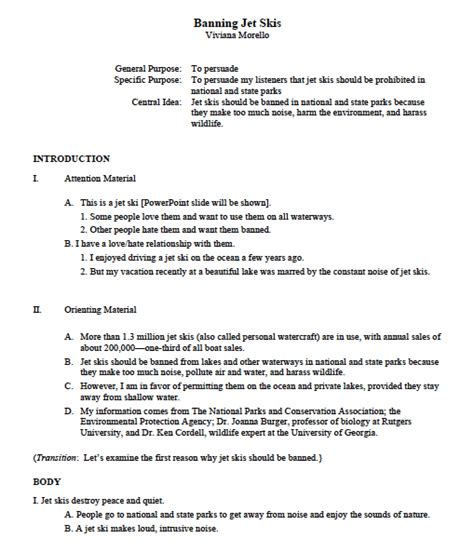 apa 6th edition sle outline apa outline template madinbelgrade