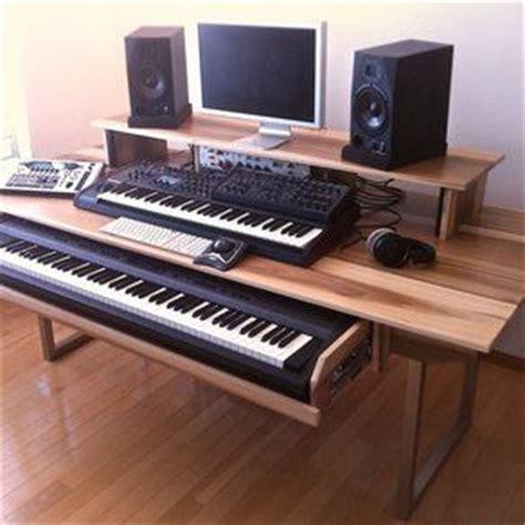 music workstation desk ikea audio video production desk w keyboard workstation