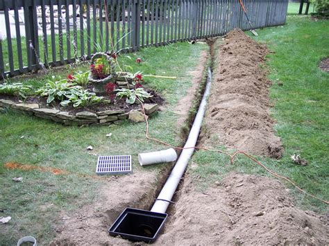 rain drain ohio 046 from rain drain columbus ohio basement waterproofing gutter protection yard