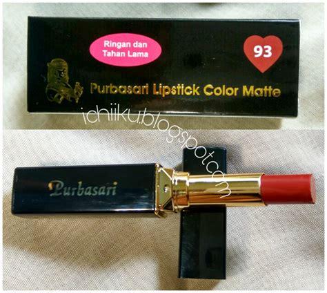 Lipstik Mirabella No 72 by Purbasari Matte Lipstick 85 Safir Dan 93 Beryl Review