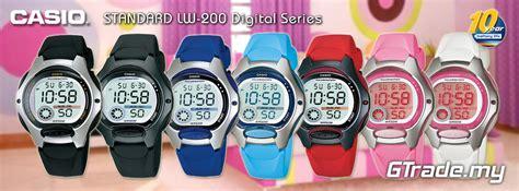 Casio Digital Lw 200 4av Lw200 Original Berg Diskon casio lw 200 digital series