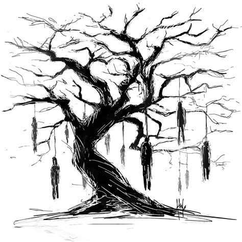 hanging tree by flufs on deviantart