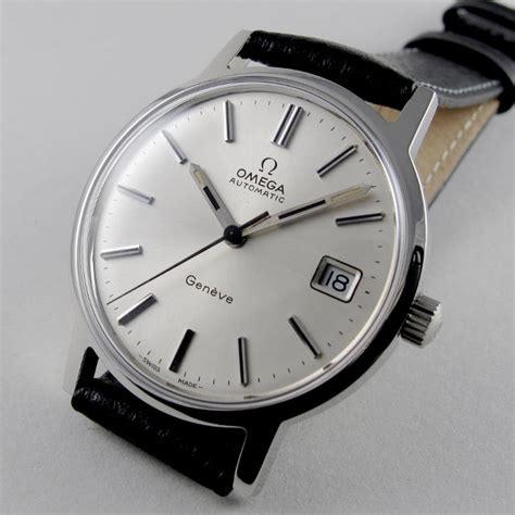 Omega Geneve Stell steel omega 232 ve ref 166 0163 vintage wristwatch circa