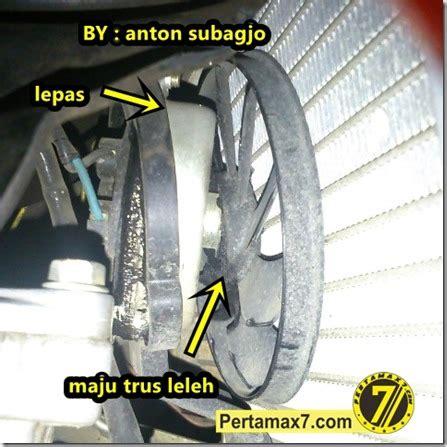 Kipas Angin Radiator Vixion kipas radiator yamaha new v ixion meleleh gagal bekerja