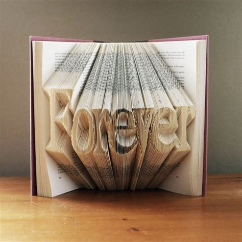 Book Paper Folding - folded book anniversary wedding best selling item