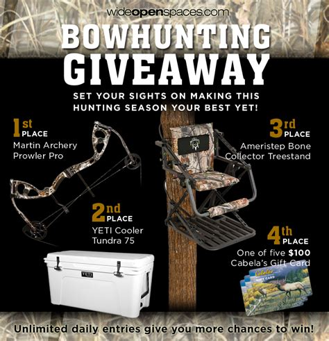 Compound Bow Giveaway - bowhunting giveaway featuring martin prowler pro compound bow