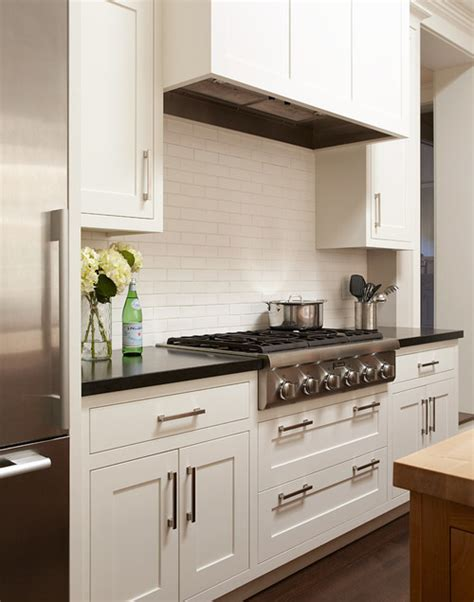 kitchen cabinet shells are the subway tiles on backsplash white or quot egg shell
