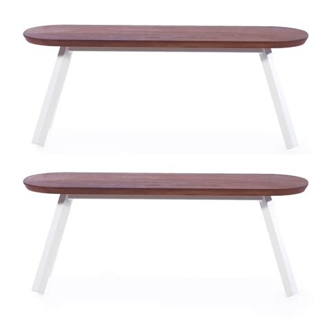 white benches you and me white bench set of 2 20 quot benches rs