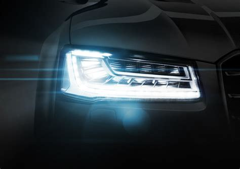 audi matrix headlights audi a8 l led matrix headlight vfx animation on behance