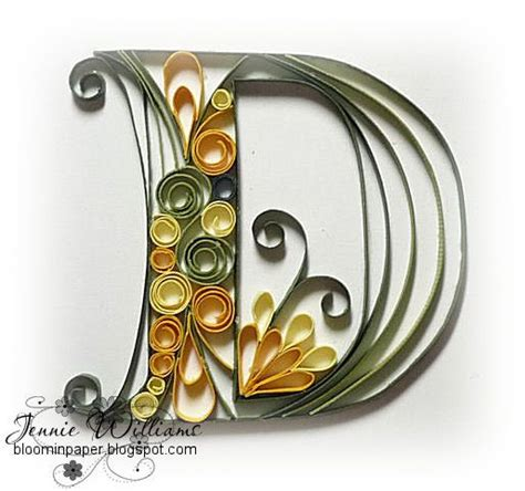 printable letters for quilling 31 best paper quilling images on pinterest quilling