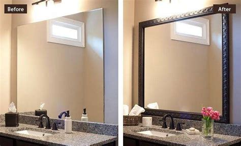 15 collection of frames for bathroom wall mirrors