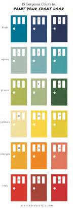 colored paint the best paint colors for your front door