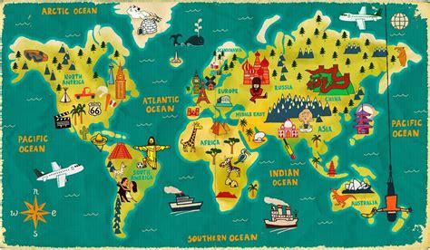 world map illustrator mapa świata inaczej