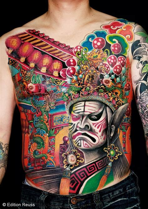 chinese style tattoos book the style