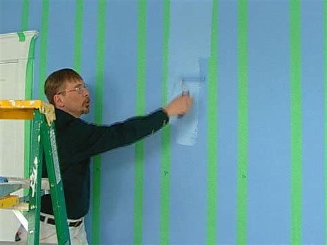 how to do wall painting designs yourself striping paint technique how tos diy