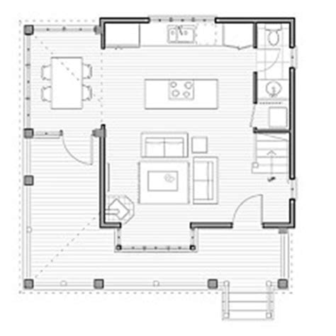 Small Cabin Designs Floor Plans by Small Cabin Floor Plans Cozy Compact And