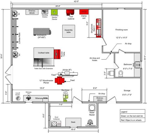 workshop plans 25 best ideas about shop layout on workshop layout woodworking shop layout and