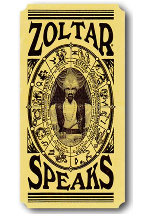 Template For Fortune Teller Card by Zoltar Speaks The Year S Of Living Non Judgmentally