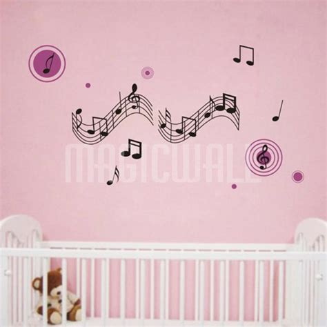 notes wall stickers wall decals musical notes wall stickers canada