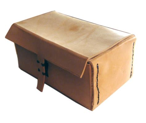 Handmade Boxes - zinno handmade leather toiletries cosmetics box