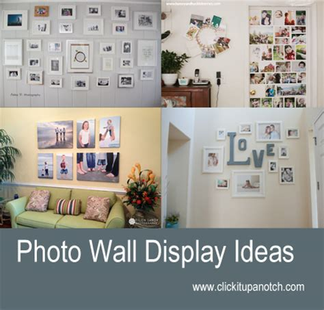 ideas for displaying pictures on walls photo wall display ideas