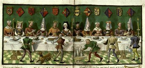banchetti medievali il banchetto conte folia