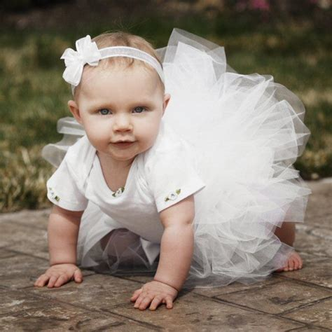 for babies white baby tutu baby fever