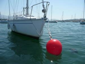 boat mooring terms how to sail picking up a mooring buoy how