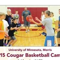 cougar youth basketball camp students grades
