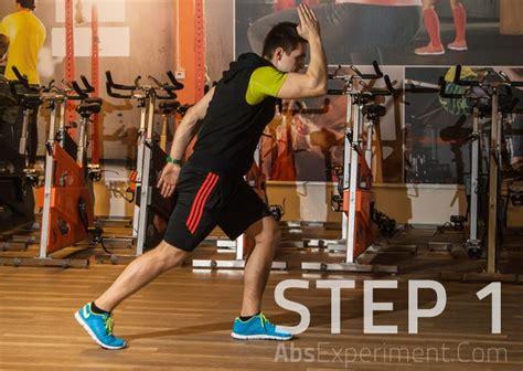 single leg sprint abdominal exercise  pictures