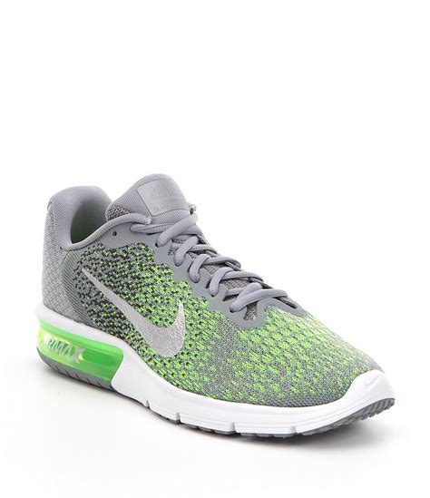 knit nikes nike 180 s air max sequent 2 knit lace up running shoe