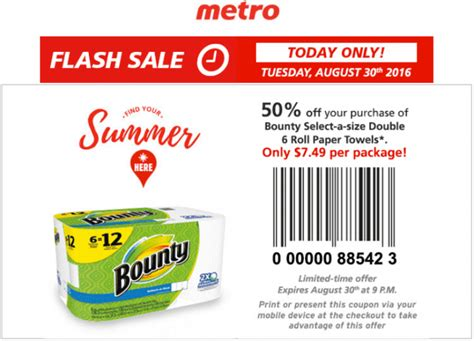 free printable grocery coupons canada only metro ontario canada flash sale coupons save 50 off your