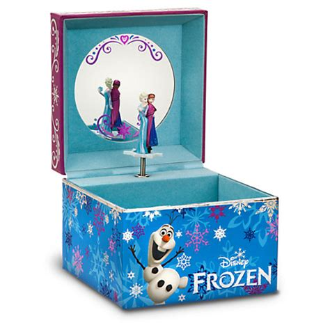 disney store frozen musical jewelry box elsa