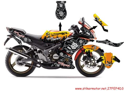 Sticker Striping Motor Stiker Suzuki Sky Wave Hijau Spec A 2 striping kawasaki krr transformer stikermotor net