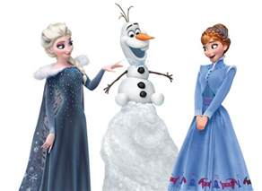 new big images of olaf s frozen adventure main characters