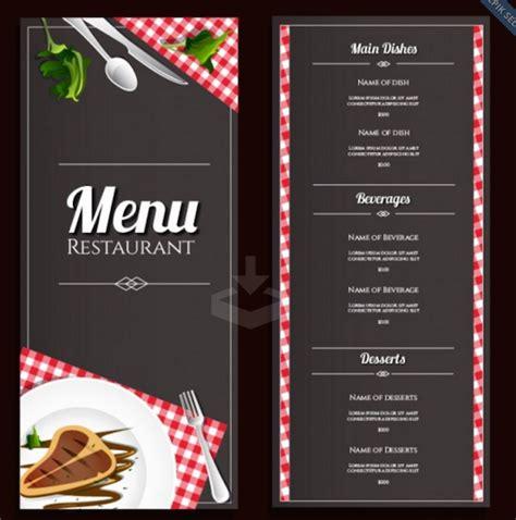simple restaurant menu template with microsoft word template v m d com