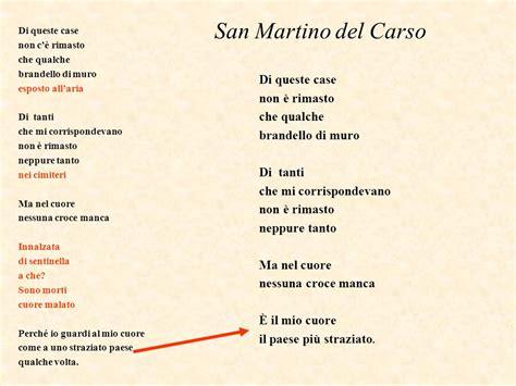 san martino carso testo la poesia politica di guerra ppt scaricare