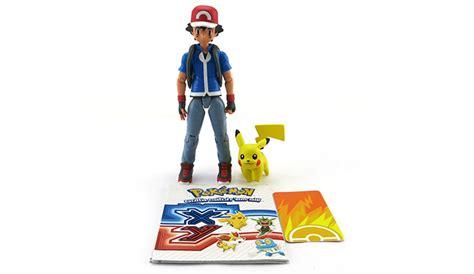 x y figures x y trainer figure ash pikachu eb new