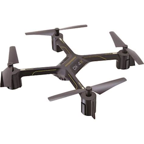 sharper image drone sharper image dx 4 drone with remote controller black
