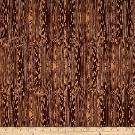 wood pattern material aviary 2 woodgrain bark brown discount designer fabric