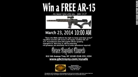 gun bad 2 destroying the anti gun narrative books new york church to give away ar 15 semi automatic rifle