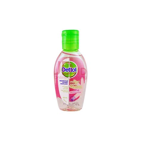 Jual Sanitizer Dettol by Jual Dettol Sanitizer Soothe 50ml Jd Id