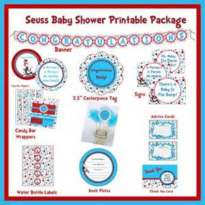 Pics photos free printable dr seuss baby shower
