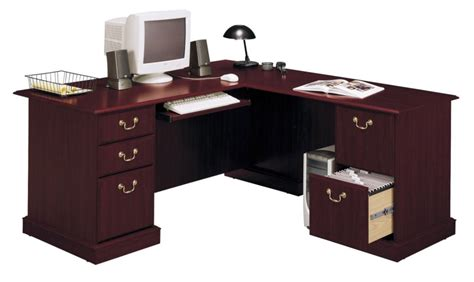 bush saratoga l desk bush saratoga executive l desk home furniture home
