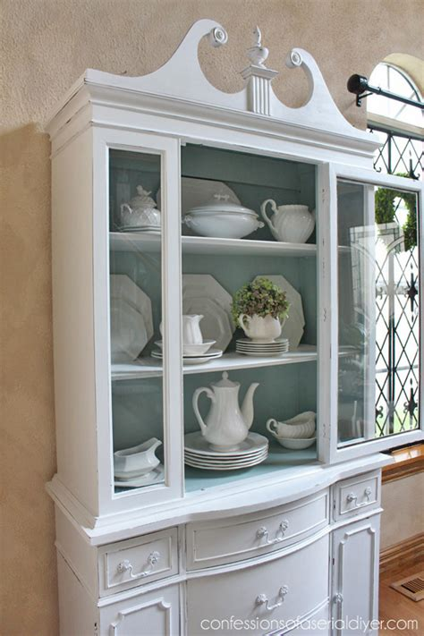 chalk painted china cabinet the scoop 139 painted china cabinets cabinets and ducks