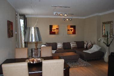 wohnzimmer mit essbereich ferienwohnung wenningstedt luxus appartement