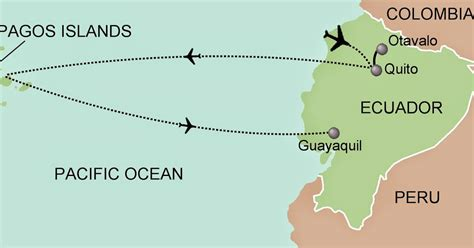 map galapagos islands free printable maps
