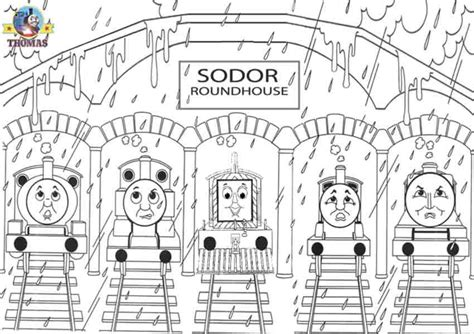 the tank engine template edward and friends coloring pages coloring pages