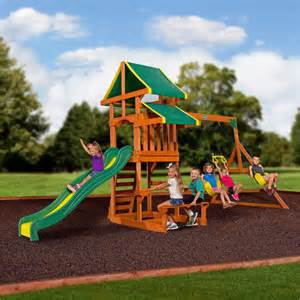 backyard discovery cedar swing set tucson outdoor play