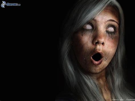 girl zombie hairstyles dark girl